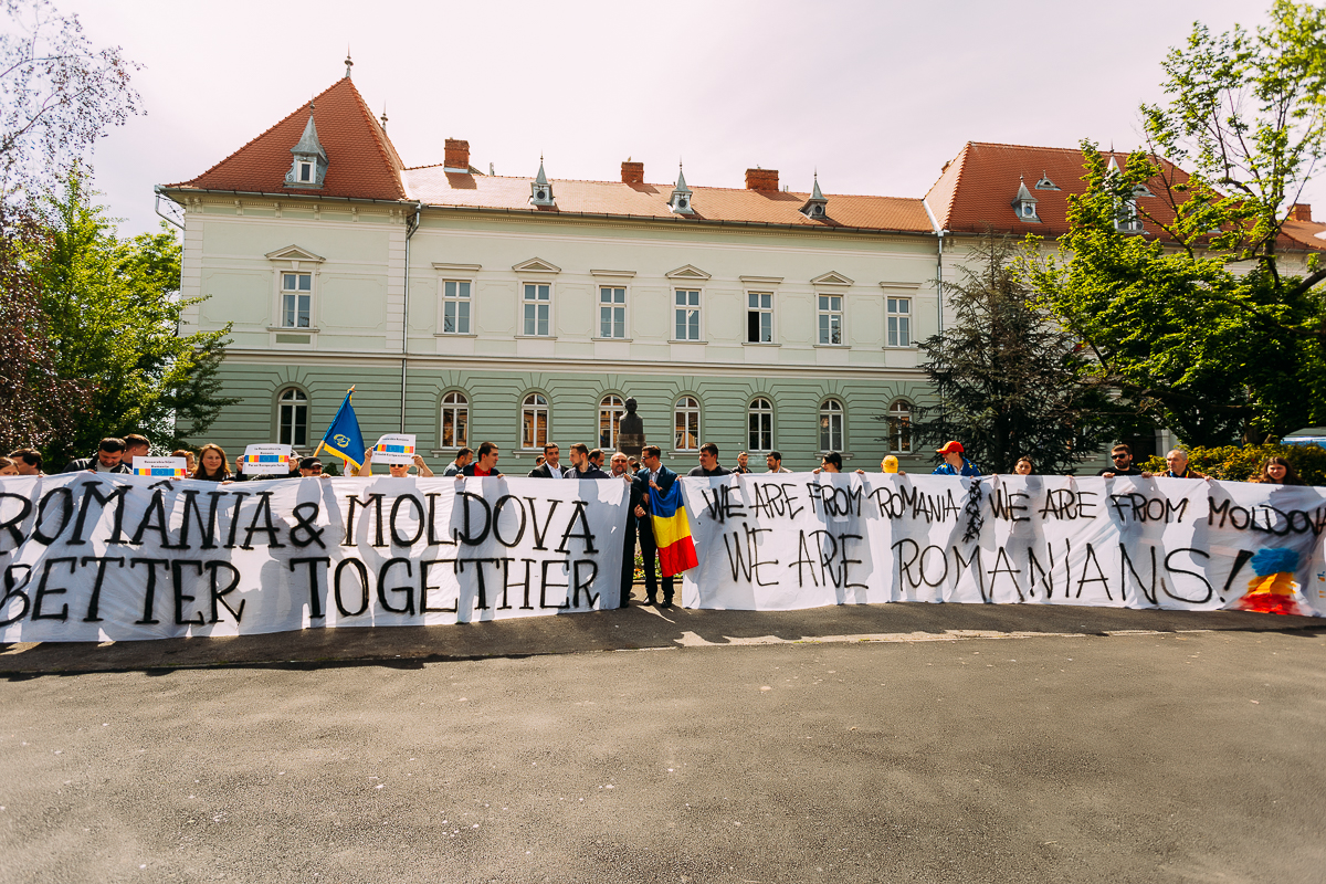 """We are from Romania, we are from Moldova, we are Romanians"" – mesajul zilei de Summit de Sibiu pentru orice european"